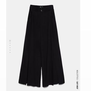 Zara vented rustic pants- blogger's favori…